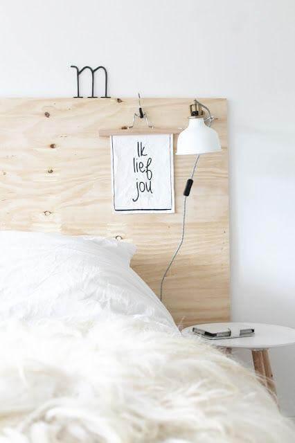 Idee per decorare la testata del letto matrimoniale in