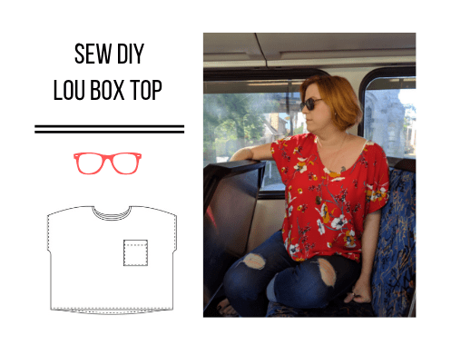 Sew DIY Lou Box Top (Tester version)