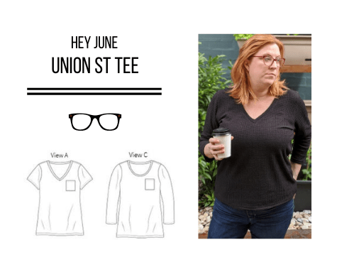 Hey June Union Street Tee