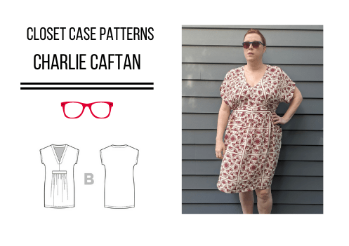 Closet Core Patterns Charlie Caftan