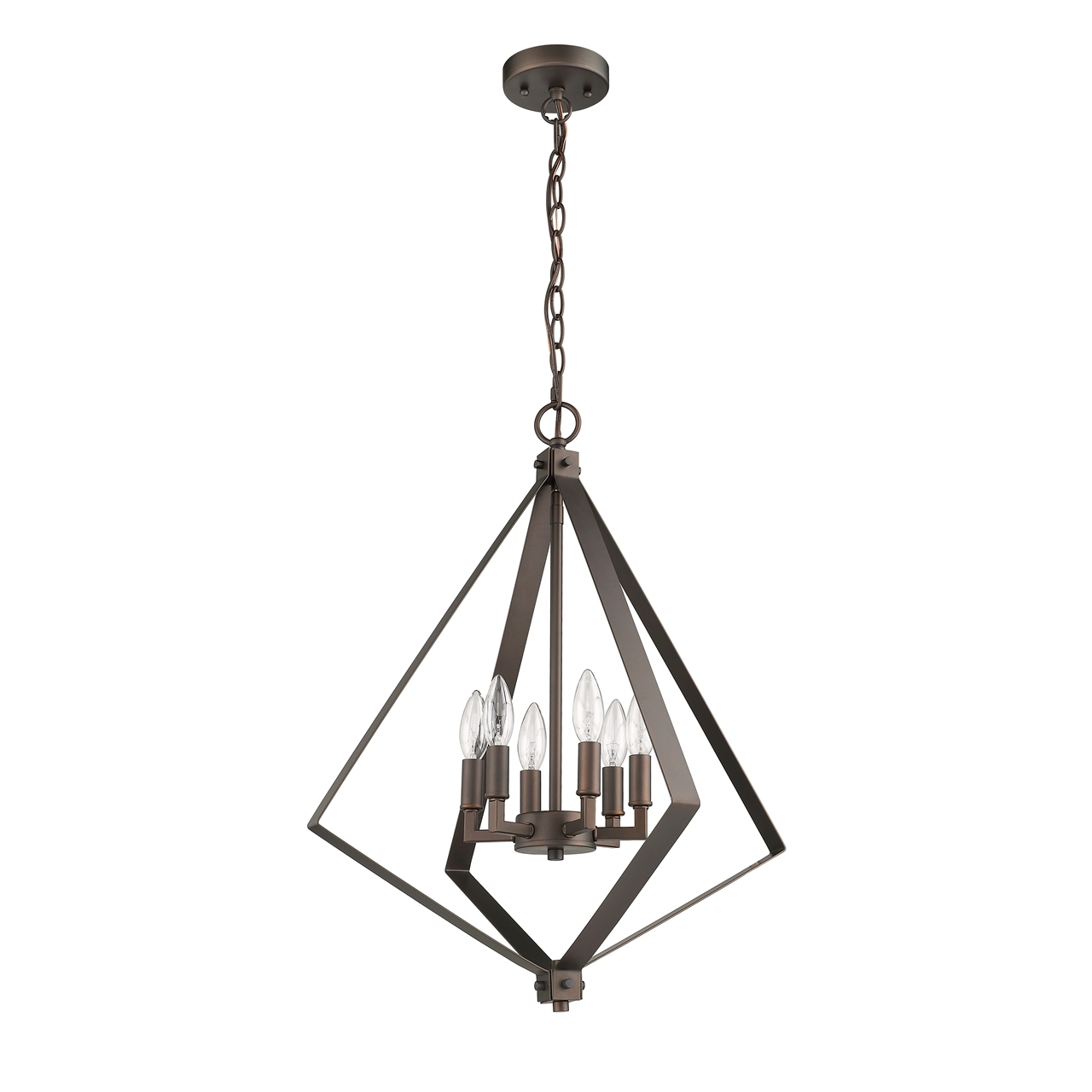 Chloe Lighting Inc Ch2s116rb20 Up6 Inverted Pendant