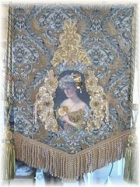 Victorian Wall Hangings - Victorian Roses Wall Decor