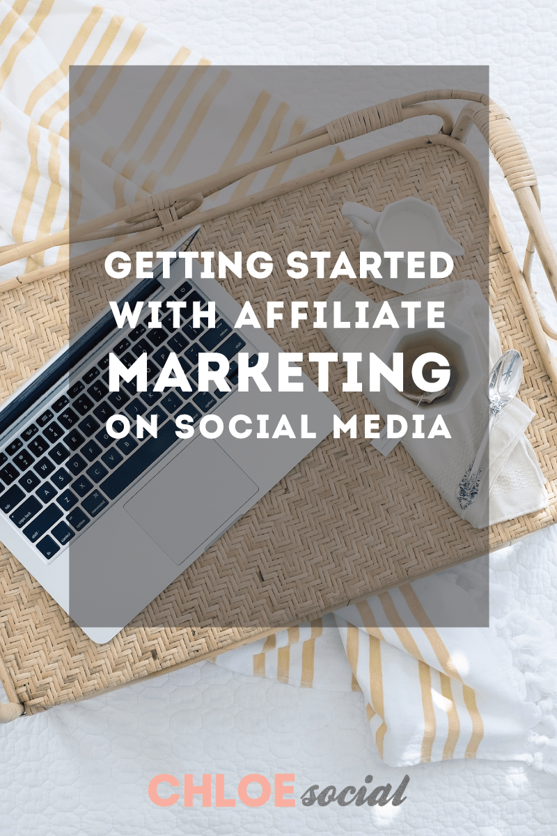 Getting Started With Affiliate Marketing on Social Media