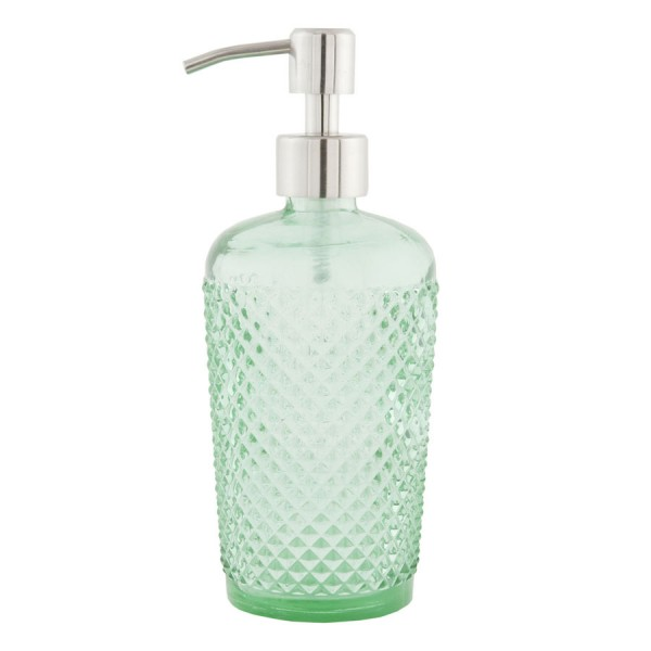 Dispensador cristal jabn bao verde decoracin bao