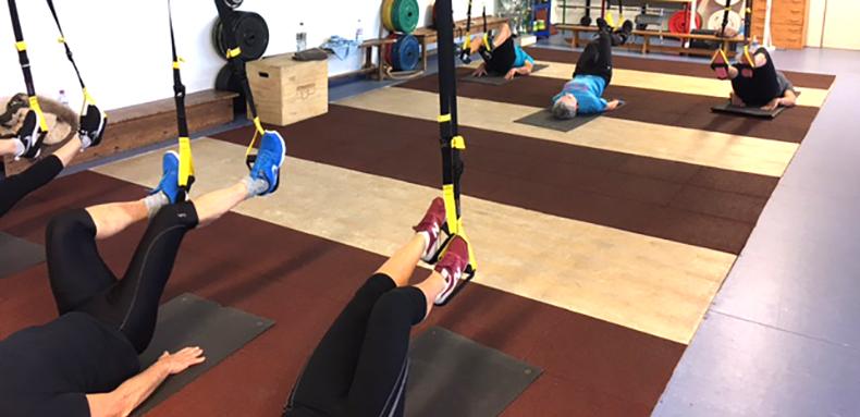 Cours collectif Circuit training avec le CHM Plouhinec Pointe du Raz