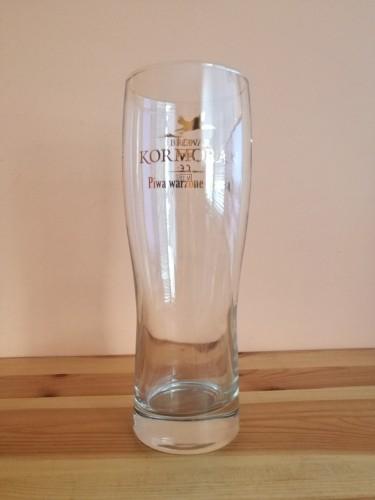 Szklanka do piwa od Browaru Kormoran