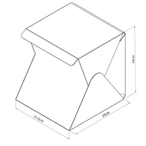 LIGHTROOM Mini Folding Portable Phot (end 11/4/2019 7:15 PM)