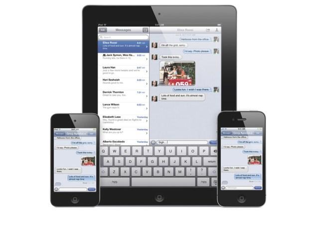 iOS iMessage özelliği ile ücretsiz SMS