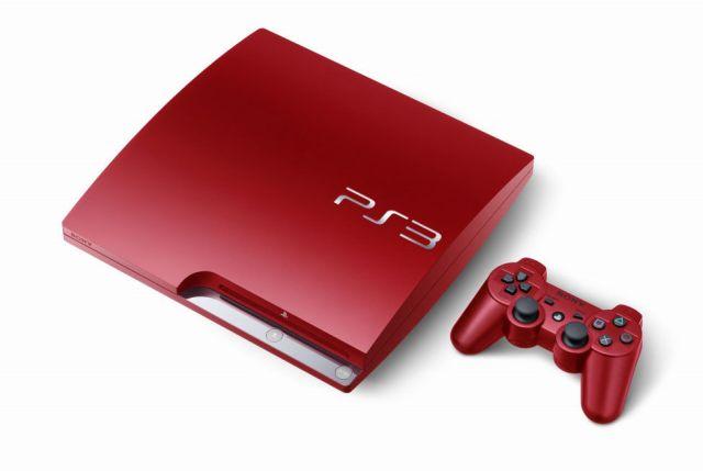 Kırmızı PlayStation 3'leri Gördünüz mü?