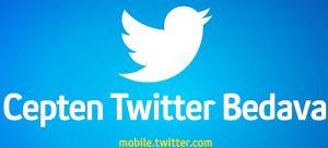 Twitter Zero kampanyası ile Turkcell'liler, mobile.twitter.com adresine bağlandıklarında internet kullanım ücreti ödemeyecekler.