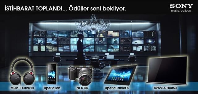 "Sony, ""Skyfall"" konseptli yarışma"