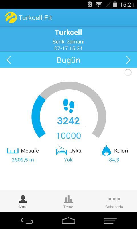 Turkcel Fit Android Uygulaması
