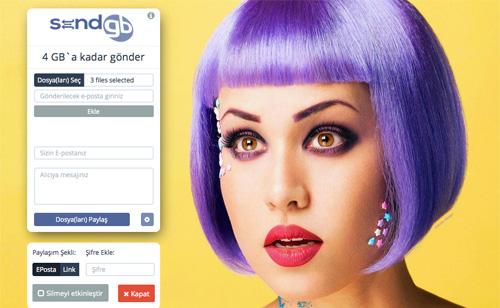 sendgb - Ücretsiz Büyük Boyutlu Dosya Gönderme Siteleri