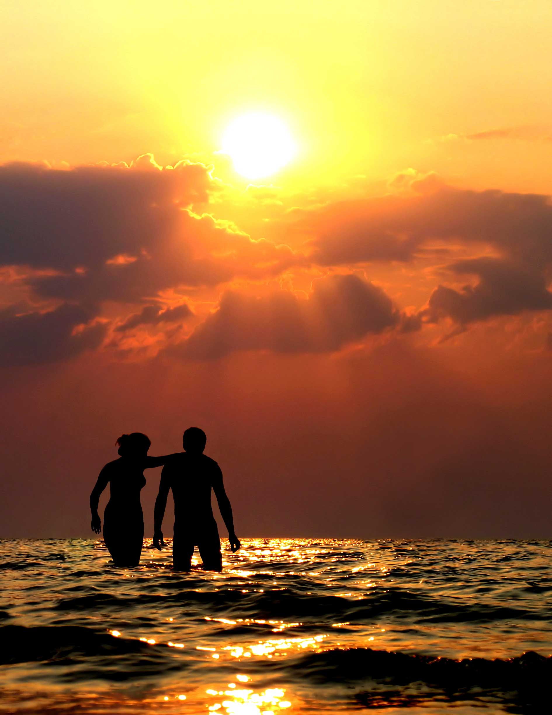 A Girl Proposing A Boy Wallpaper 15 Pictures Of Love Couples At Sunset Couple Sunset