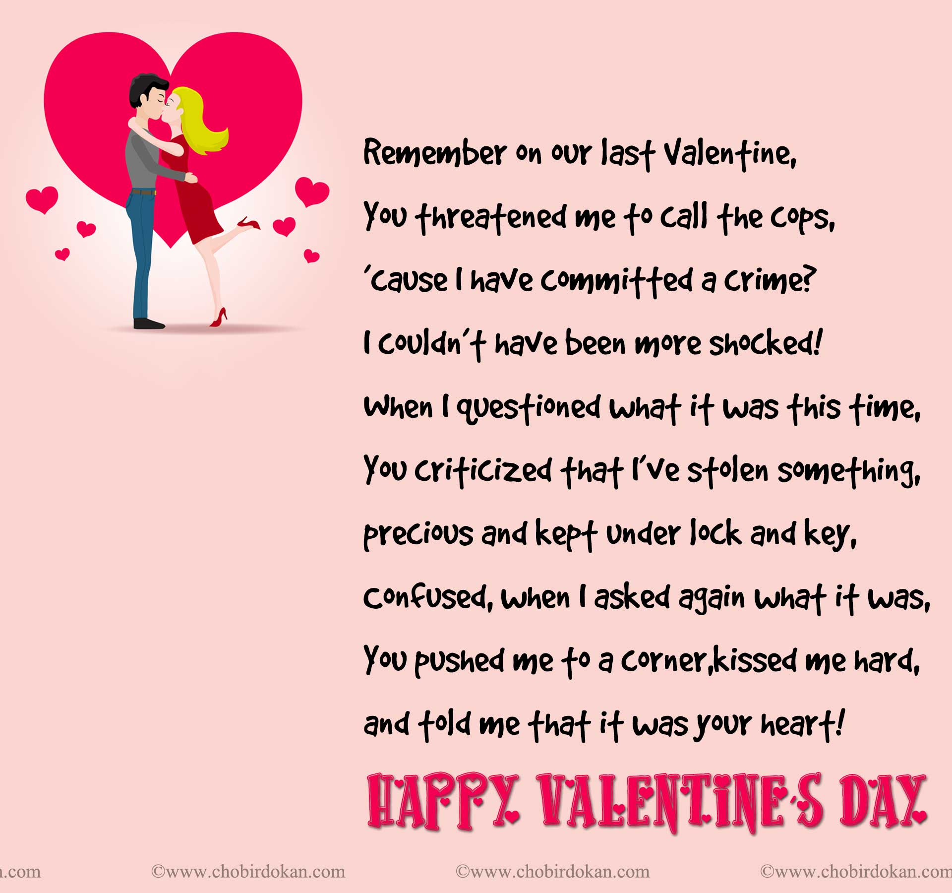 Valentines Poems For Him For Your Boyfriend Or Husband