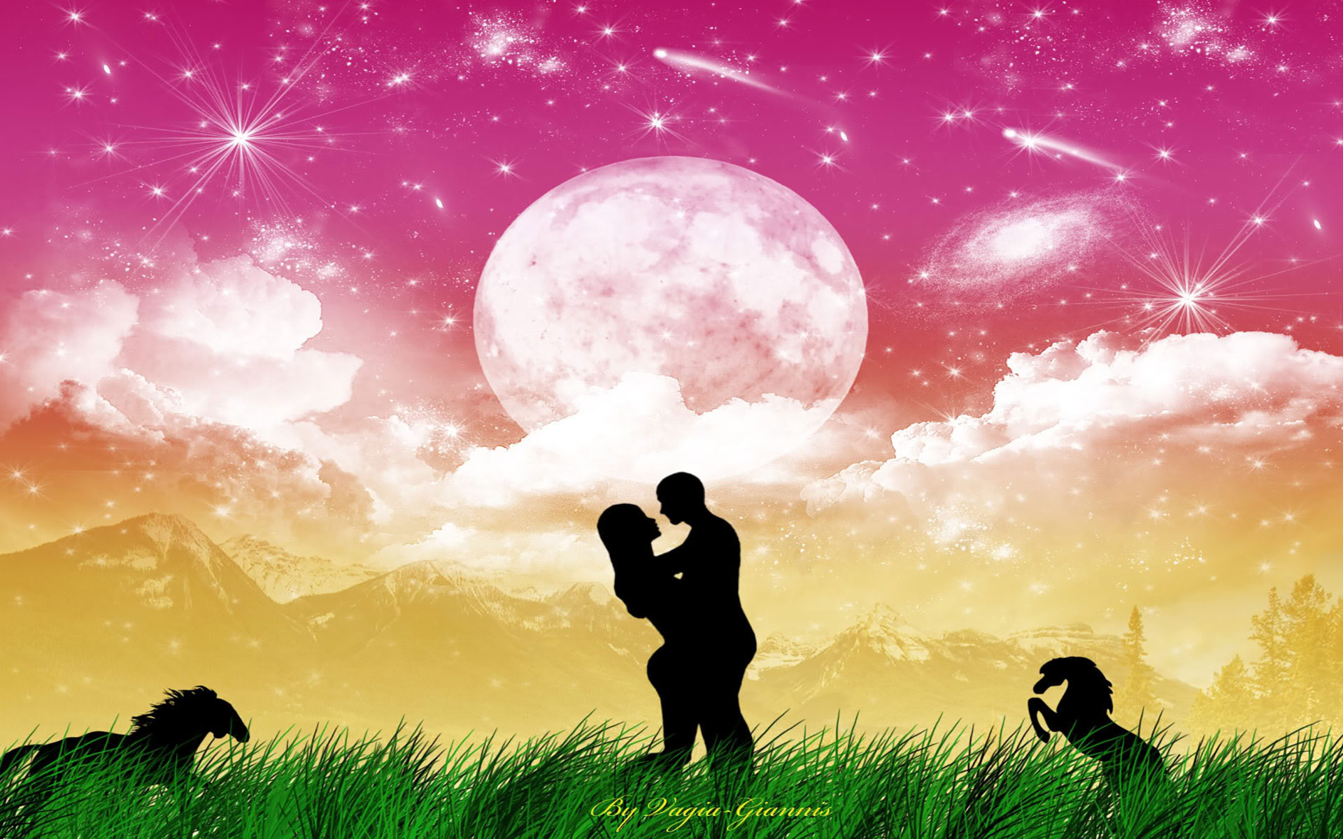 Cute Couples Holding Hands Hd Wallpapers Silhouette Of Couple Holding Hands Dancing Couple Silhouette