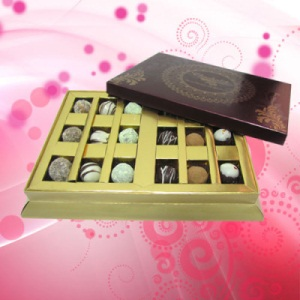 18 Pc. Chocolate Truffle Box