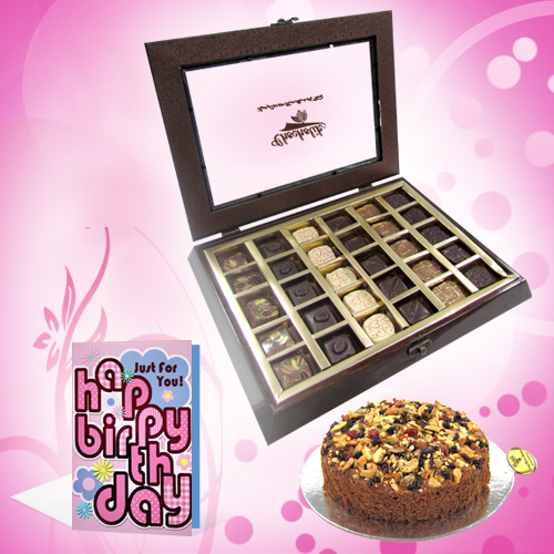 Choco Dry Fruit Birthday Treat