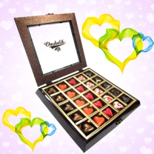 Valentines Treasure Chocolates