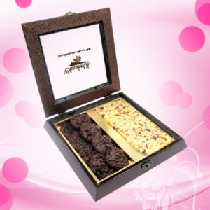 Dark n Light Jumble chocolate box