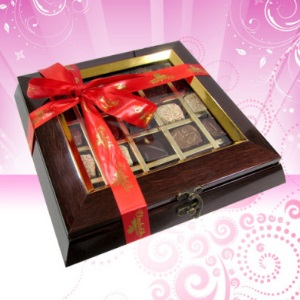 Assortment of Exotic Chocolates