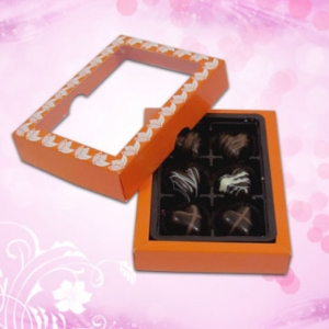 Attractive Treat of Chocolate Hearts