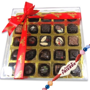 Good Friends Share Gorgeous Chocolates