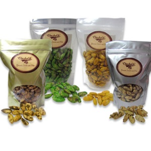 Sweet and Savoury Flavored Almond Treats