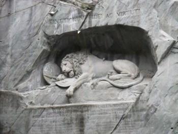Lucerne Switzerland Lion