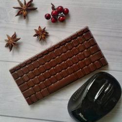 Шоколад ручной работы. Шоколадная клавиатура