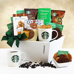 A Deluxe Coffee and Cocoa Starbucks Gift