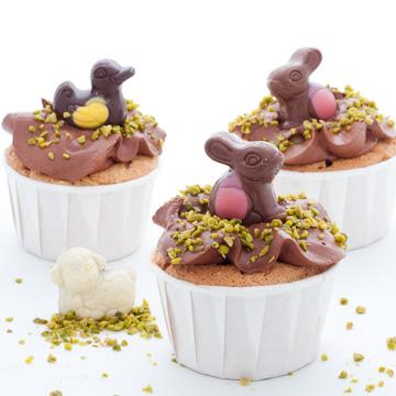 cupcakes lapins de paques