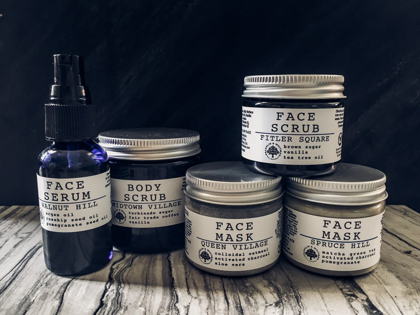 Frank and Whitman Beauty Products