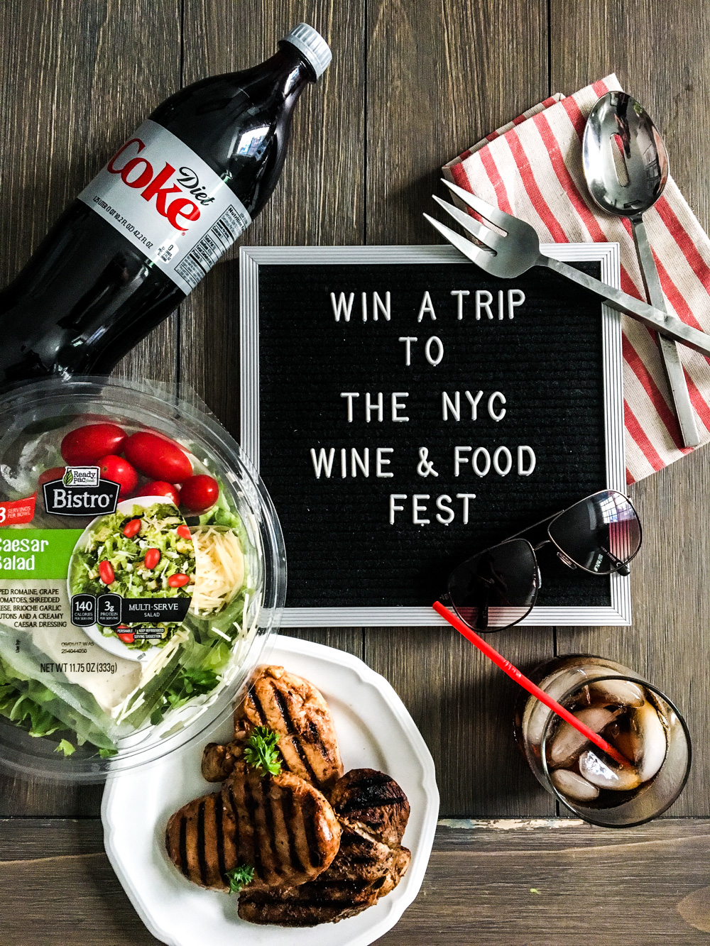 Lifestyle Blog Chocolate and Lace shares how to win tickets and travel to the NYC Wine and Food Festival.