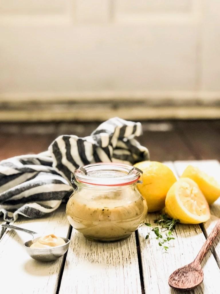 Honey Lemon Dijon Dressing