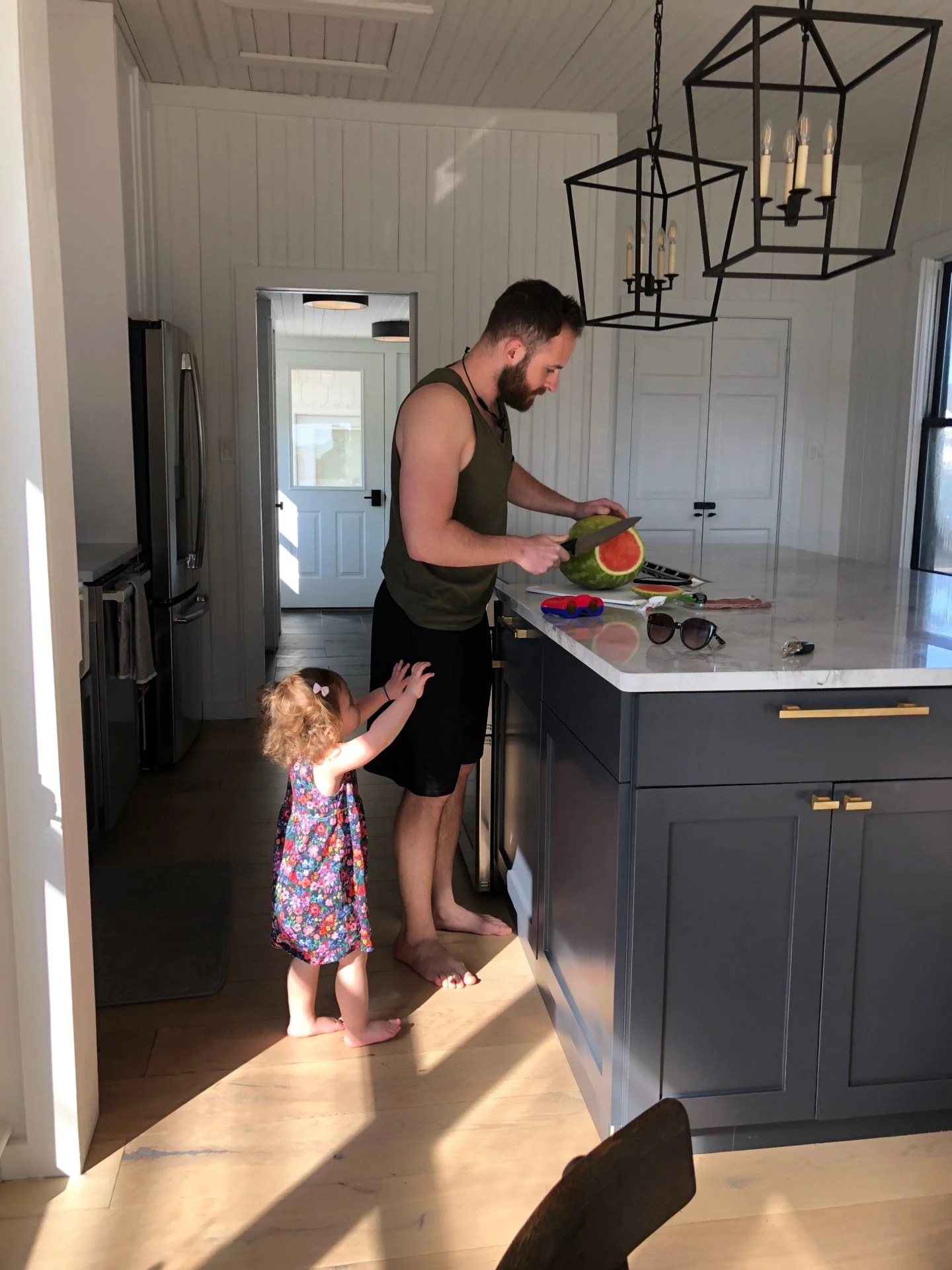 Philadelphia Lifestyle Blogger Chocolate and Lace shares her family vacation to a renovated Farm House in Southern New Jersey.