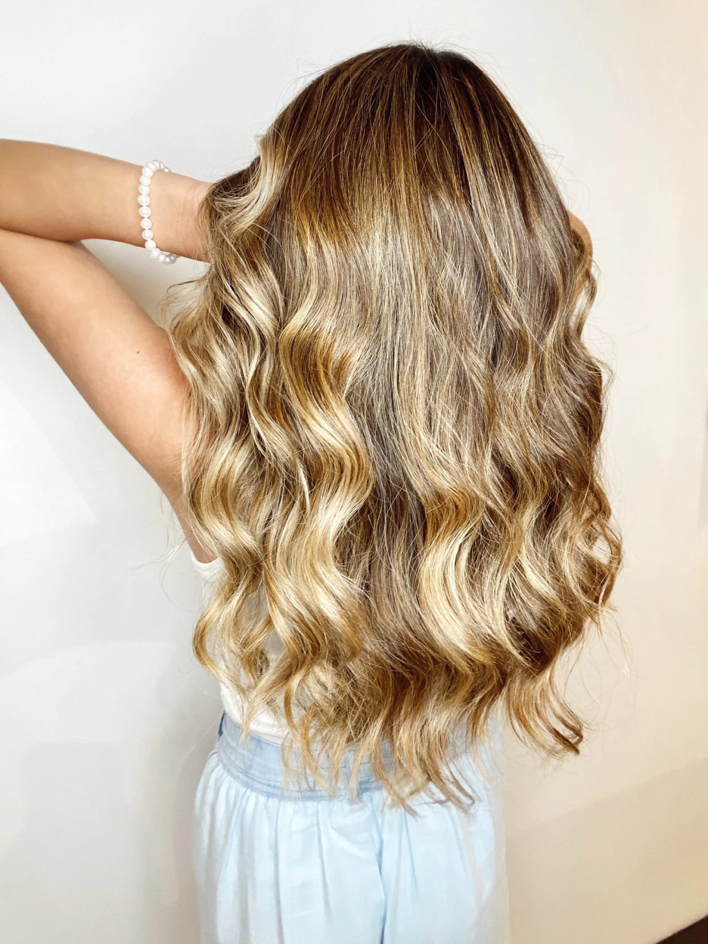 The best products for brunette balayage hair color.