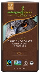 Dark Chocolate with Sea Salt & Almonds