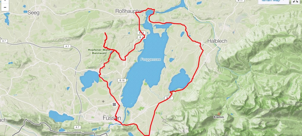 Fussen and lakes Ride