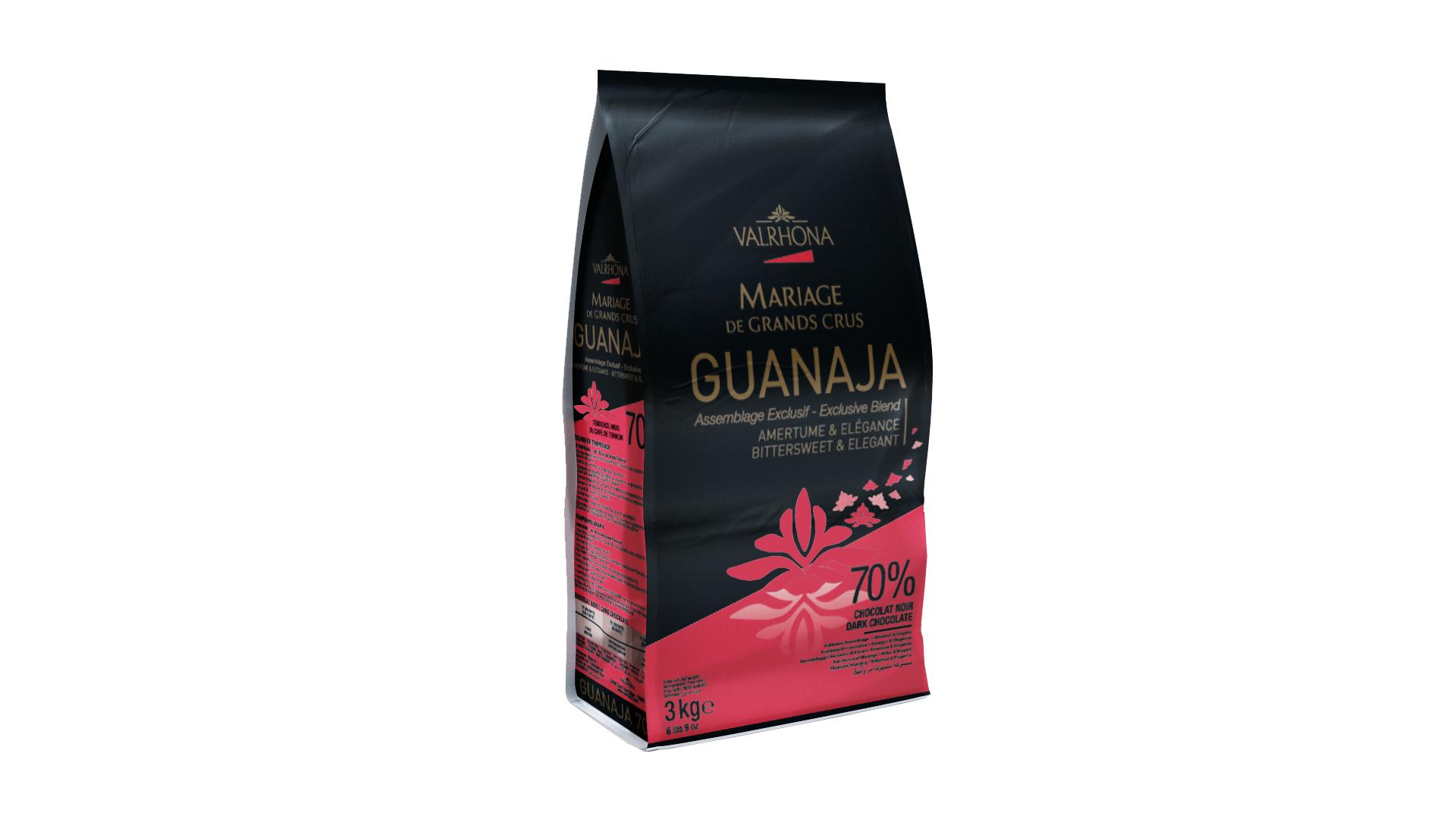 Valrhona Guanaja 70% Dark Chocolate Couverture Feves  #4653