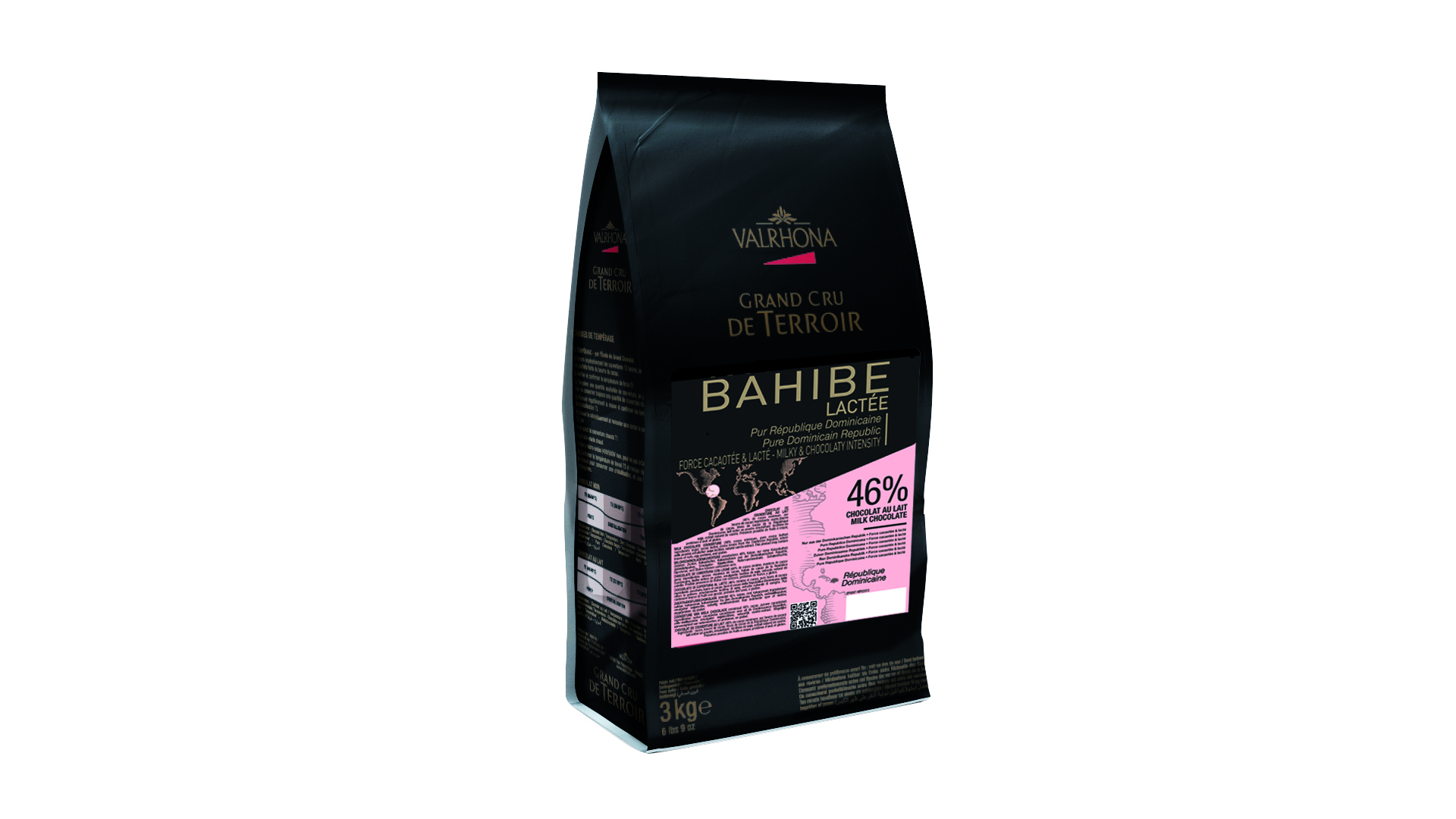Valrhona Bahibe 46% Dark Milk Chocolate Feves  #9997