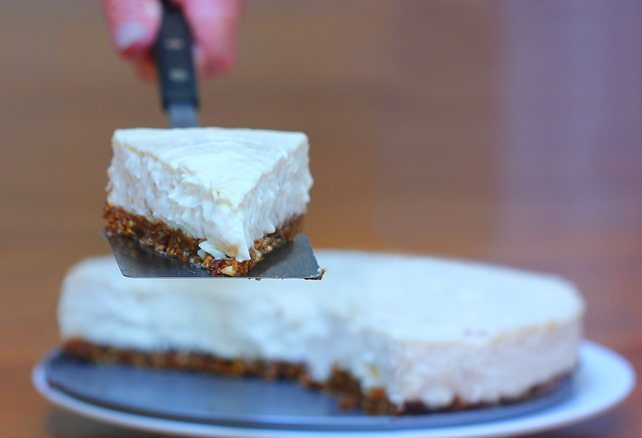 The Healthy Cheesecake Of Your Dreams