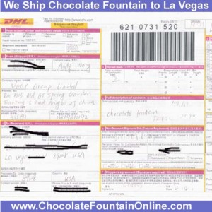 La Vegas Chocolate Fountain to Buy Online