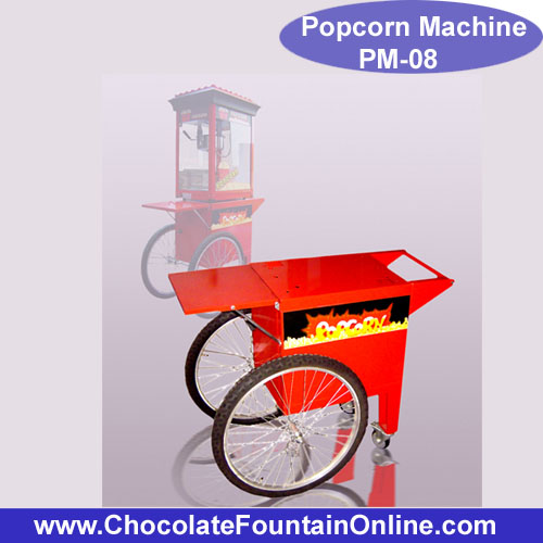 PM08 Popcorn Machine Cart