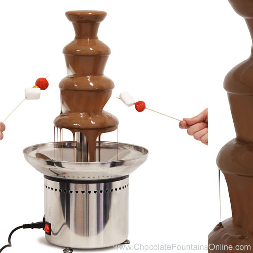 CF24A Professional Chocolate Fondue Fountain for dipping