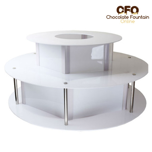 Surround Chocolate Fountain Led Base Display