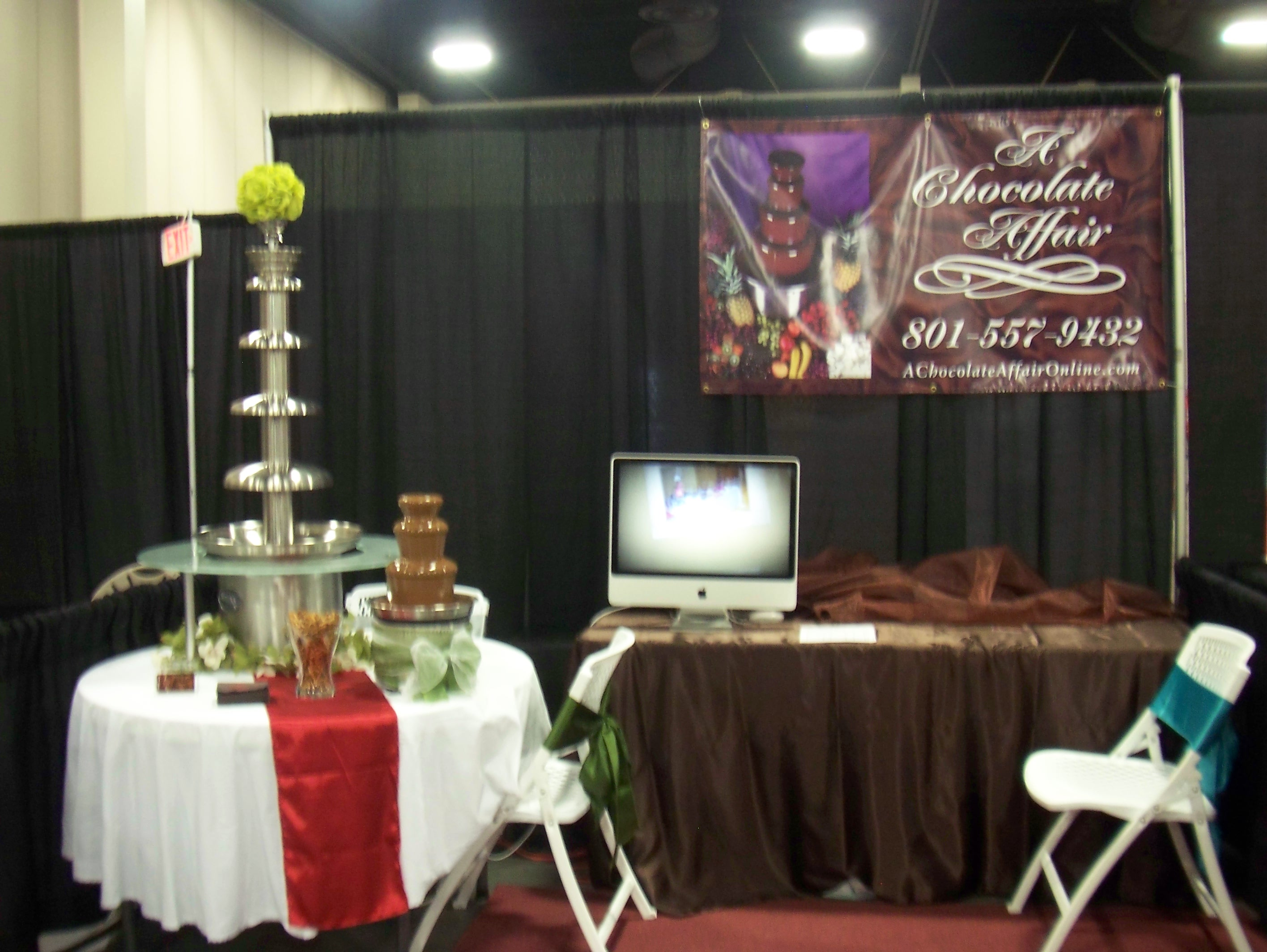 chair cover rentals utah steelcase leap bridal extravaganza in sandy chocolate