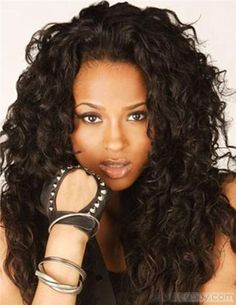 Curly Deep Wave Hairstyles Easy Casual Hairstyles For Long Hair