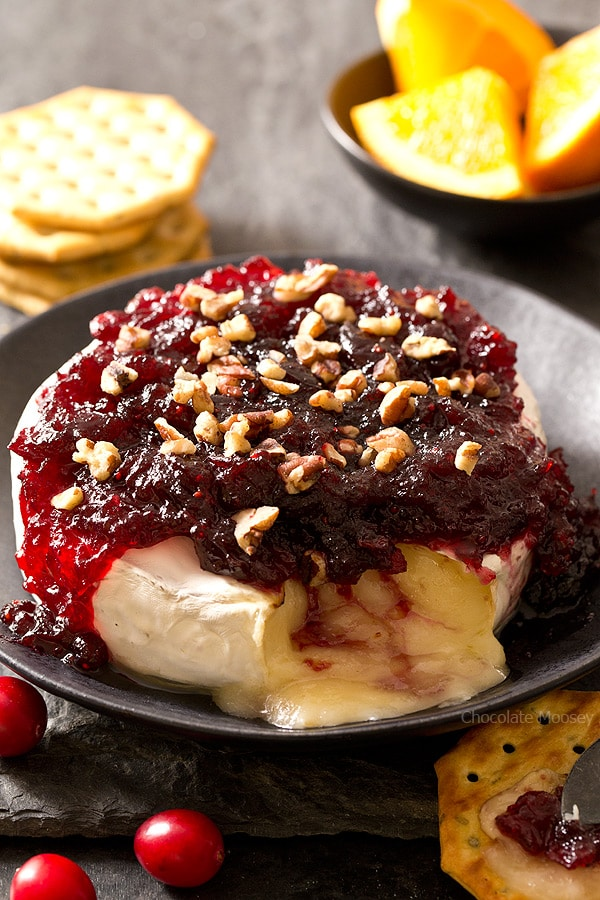 Cranberry Baked Brie  Homemade In The Kitchen
