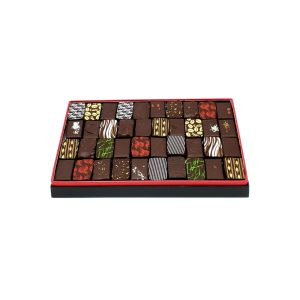 écrin chocolats noirs 300g